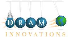 Dram Innovations Logo, Incubator, Engineering, Dragons Den